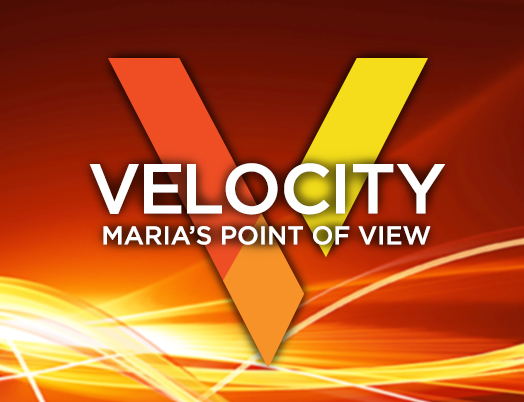 Velocity: Maria's Point of View background