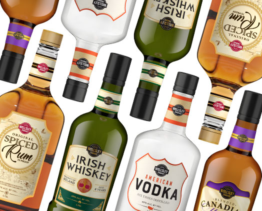 BJ's Wholesale Club Launches Wellsley Farms' Spirits background