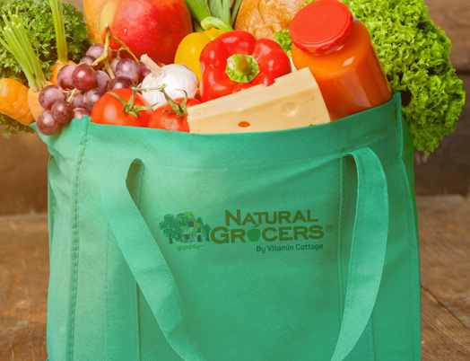 Natural Grocers eliminates 300M+ single use plastic bags background