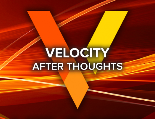 Velocity After Thoughts background