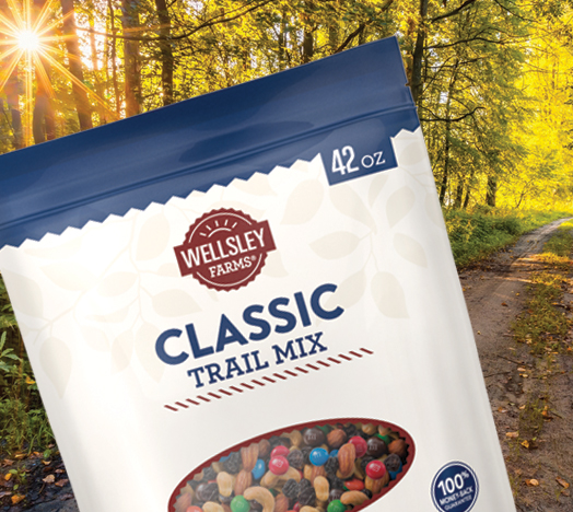 Wellsley Farms Packaging background