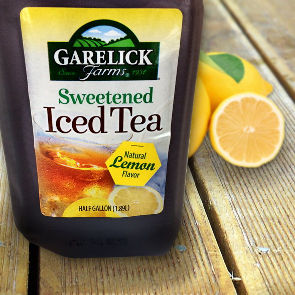 Garelick Iced Tea background